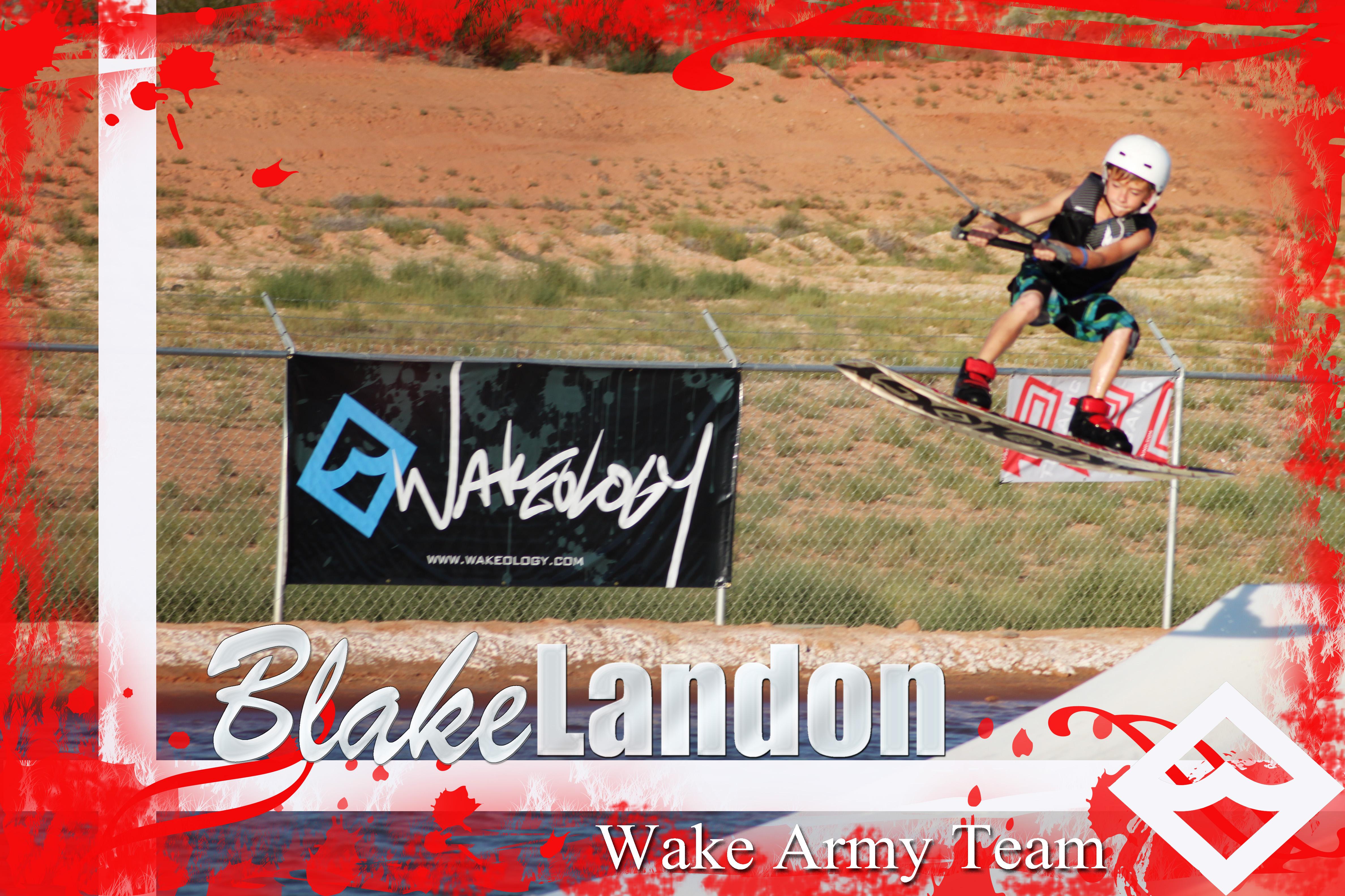 WAKE ARMY blake landon